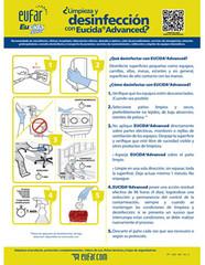 Protocolo manual eucida advanced desinfecci n de for Manual de limpieza y desinfeccion en restaurantes