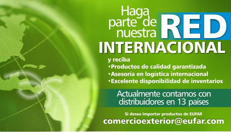 Ventas internacionales de productos dentales y de control de infecciones